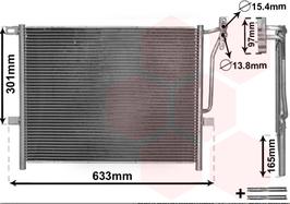 Airco condensor radiateur BMW E46 alle modellen en Z4 E85