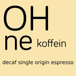 OHNE koffein