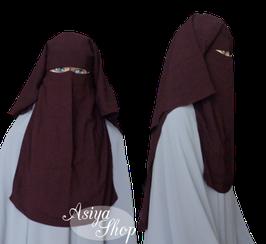 Niqab Aubergine