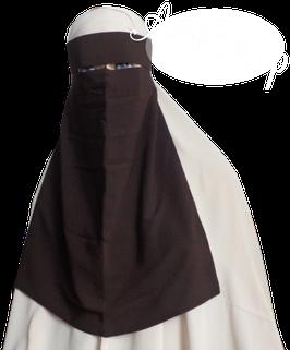 Ninja Niqab Braun