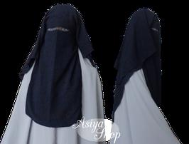 Niqab Marineblau