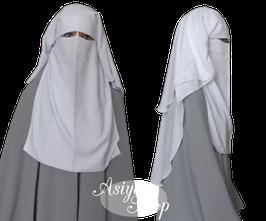 Niqab weiß