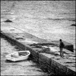 L'homme et la barque