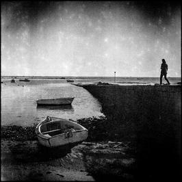 La femme et la barque