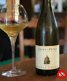 """AOC Saint - Péray """"Vigne de Cent Ans"""" (Marsanne)  Benoît ROSEAU (blanc)"""