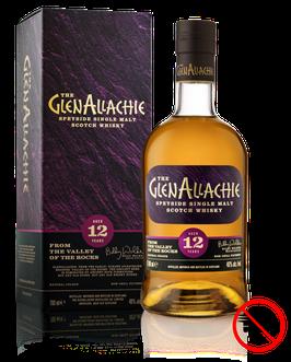 THE GLENALLACHIE 12 ans Speyside Single Malt (whisky Ecossais)