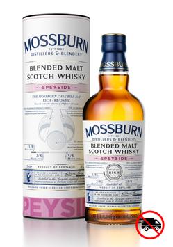 MOSSBURN Speyside Blended Malt 46% (whisky Ecossais)