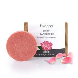Boopan Rasierseife Rose