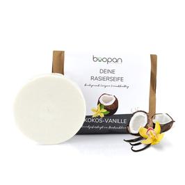 Boopan Rasierseife Kokos-Vanille