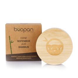 Seifenbox aus Bambus mit Magnetverschluss