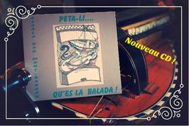 """Le CD """"Pela-li, qu'es la balada !"""""""