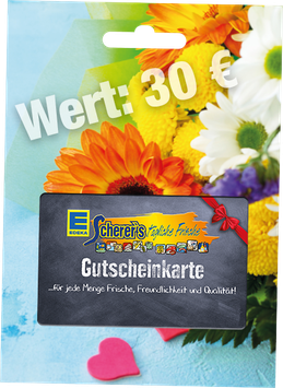 Scherer's Gutschein Wert 30 €