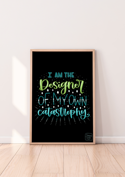 "Poster ""I am the Designer"""