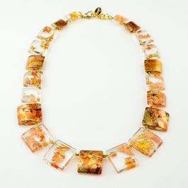 Halskette Kupfermetall