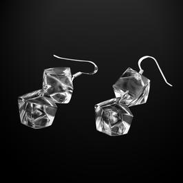 Transparente Ohrhänger