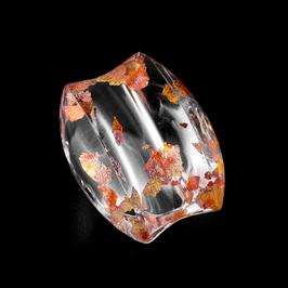 Unikatring mit Kupfermetalleinschluss