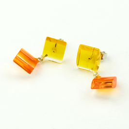 Doppelstecker gelb-orange