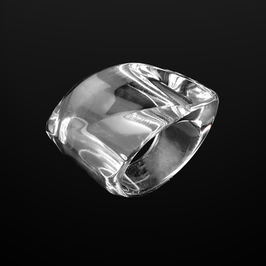 Transparenter Ring