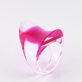Pinkfarbener Ring