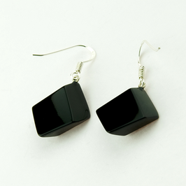 Ohrhänger schwarz