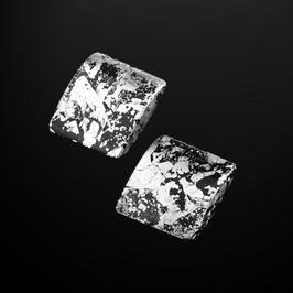 Clips schwarz-silber
