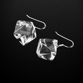 Transparente Ohrhänger klar