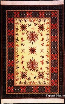 "Carpet ""HUICHOL"""