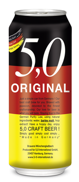 5,0 Original Craft Beer 24x500cc