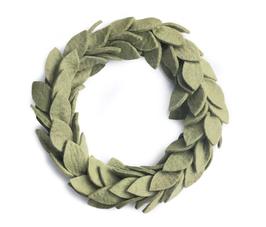 »Grüner Blätterkranz«  —Gamcha