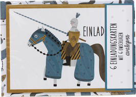 Einladungskarten - Set »Ritter« — AVA & YVES