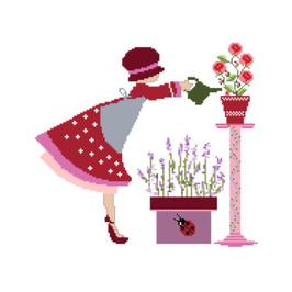 Constance au jardin