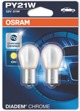 OSRAM Blinker PY21W Diadem Chrome 12V BAU15S