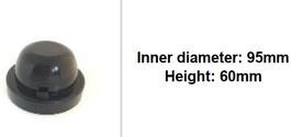 95mm Scheinwerfer Gummi Abdeckung rund tiefer
