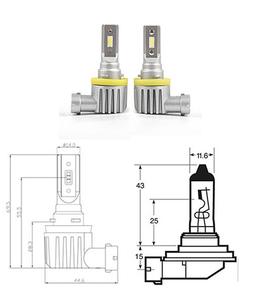 HB3 9005 LED ATOM 150% mehr Licht neu 2018