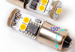 LED Standlicht H6W BAX9S Swiss Made  CANBUS