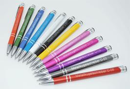 Metall-Kugelschreiber Cosmo 10 Stück