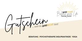 goldWERT-Gutschein