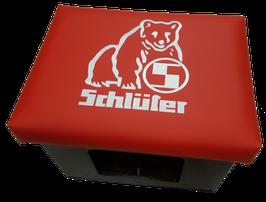 Original Schlüter Traktoren Logo - rot