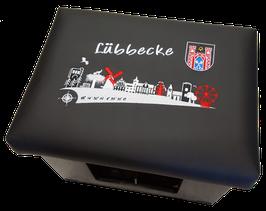 Skyline Lübbecke - schwarz