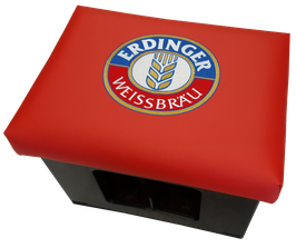Original ERDINGER Weissbräu Logo (rot)
