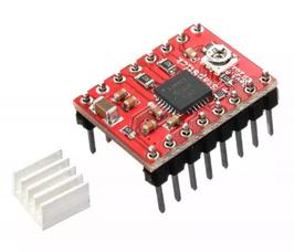 H most za koračni motor A4988 - 2A microstep