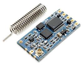 HC-12 oddajnik/sprejemnik dolgega dometa z anteno