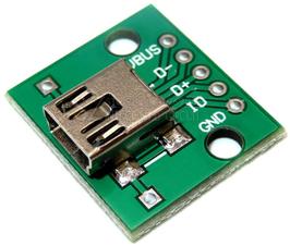 mini USB - DIP adapter