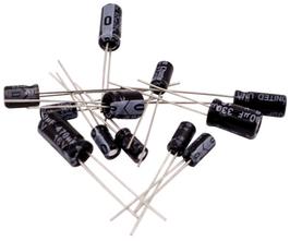 Kondenzatorji elektrolitski komplet 12 vrednosti 120 kosov