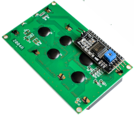 LCD 20x4 + I2C vmesnik