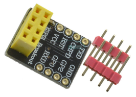 ESP-01 breadboard adapter