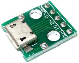 microUSB - DIP adapter
