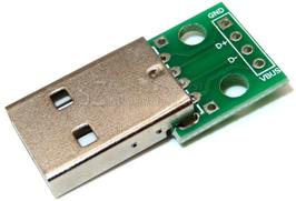 USB A moški - DIP adapter