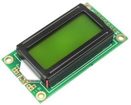 LCD 8x2 karakter zelen