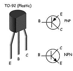 Tranzistor NPN / PNP univerzalni TO92